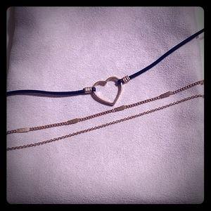 Jewelry - 🔥Gold layered 💛 choker NWOT